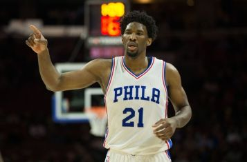 Joel Embiid (Photo Credit: Bill Streicher-USA TODAY Sports)