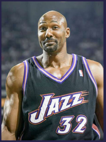 Karl Malone (Photo Credit: Jed Jacobsohn/ Getty Images)