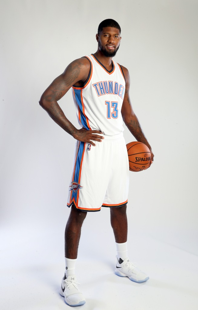 OKC Thunder Paul George